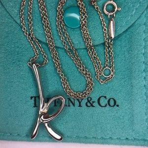a64c5d5352b22 Women Tiffany Necklace Letter on Poshmark